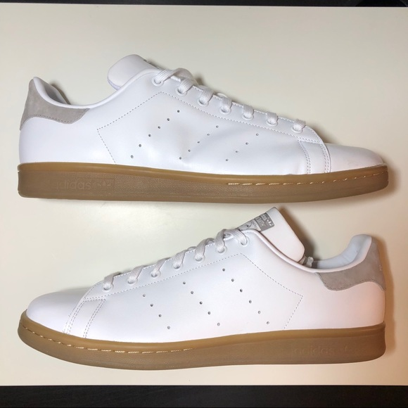 meet d6ce4 ef7f4 Adidas Stan Smith Gum Sole Size 13 S80021 NWT